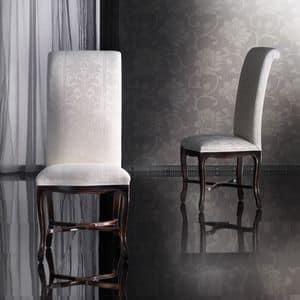 SISSI chair 8491S, Beech chair handmade, high back, classic