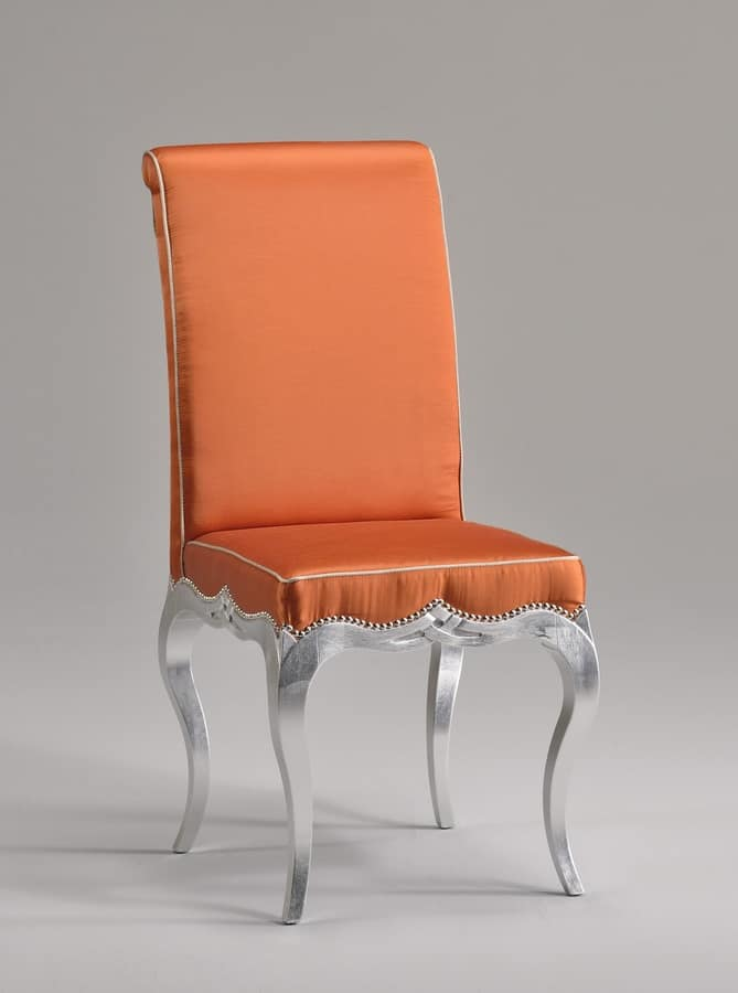 ZEN chair 8677S, Old style dining chair, with padded seat and backrest