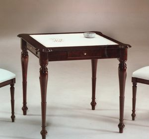 2245 table, Table with leather top, English style