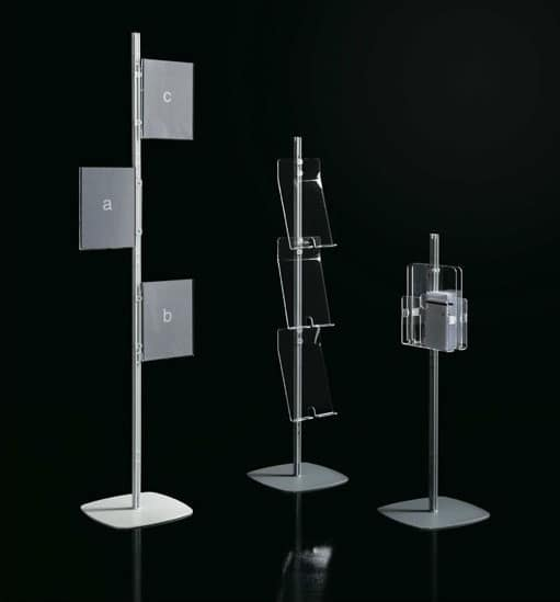 Arianna totem, Modular exhibitors for public office
