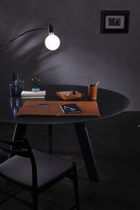 Aristotele 4pz, Leather desk set
