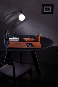Aristotele 5pz, Leather desk accessories