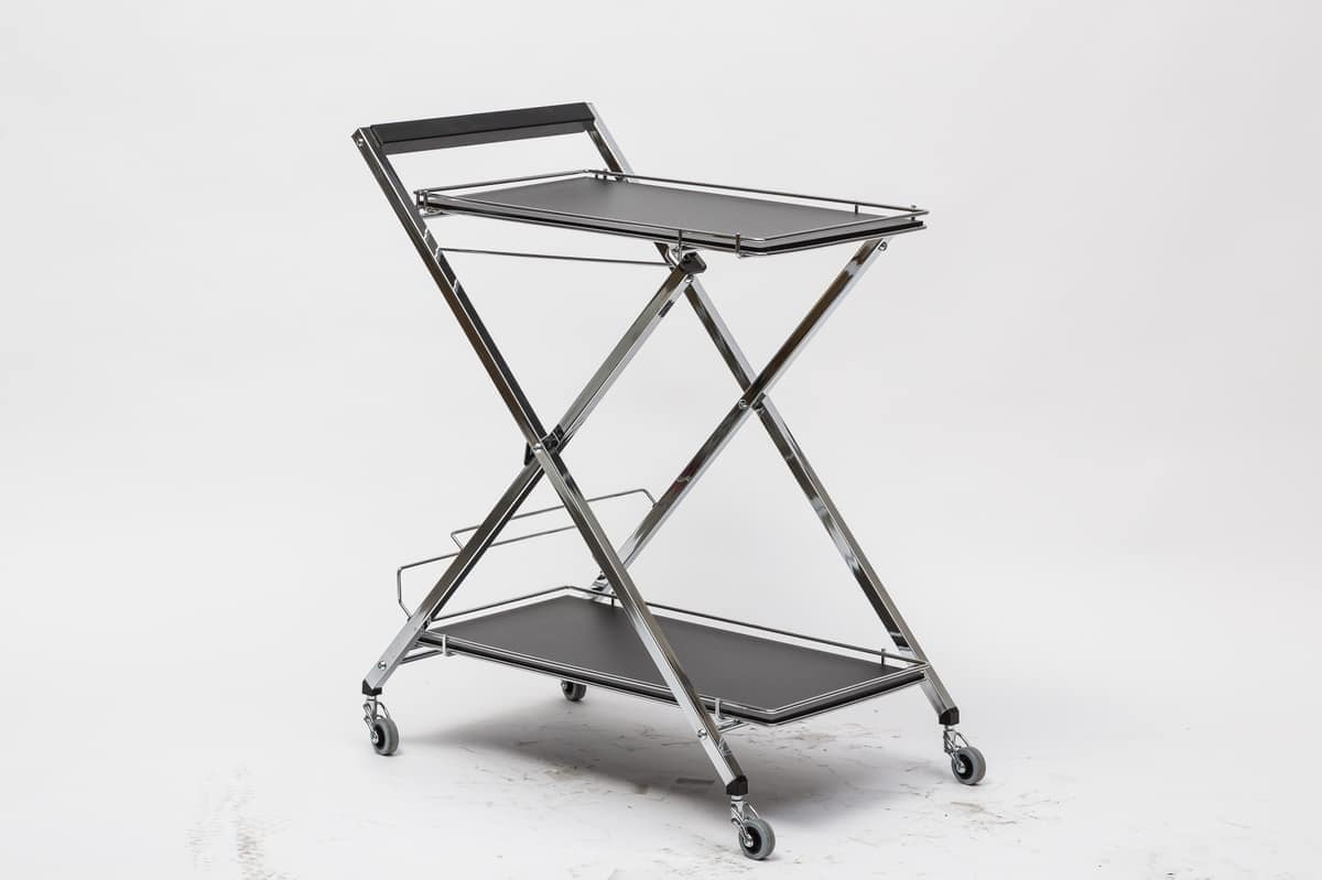 Art. 805 Trolley, Multipurpose foldable trolley, for hotels and modern houses