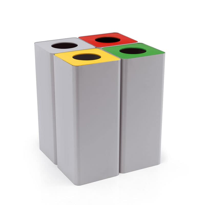 Centolitri 1, Bins for recycling, for the home and the office