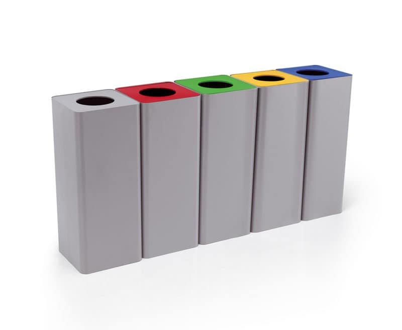 Centolitri 2, Steel container for the differentiated collection