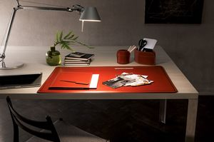 Ebe 5pz, Leather accessories for office desk