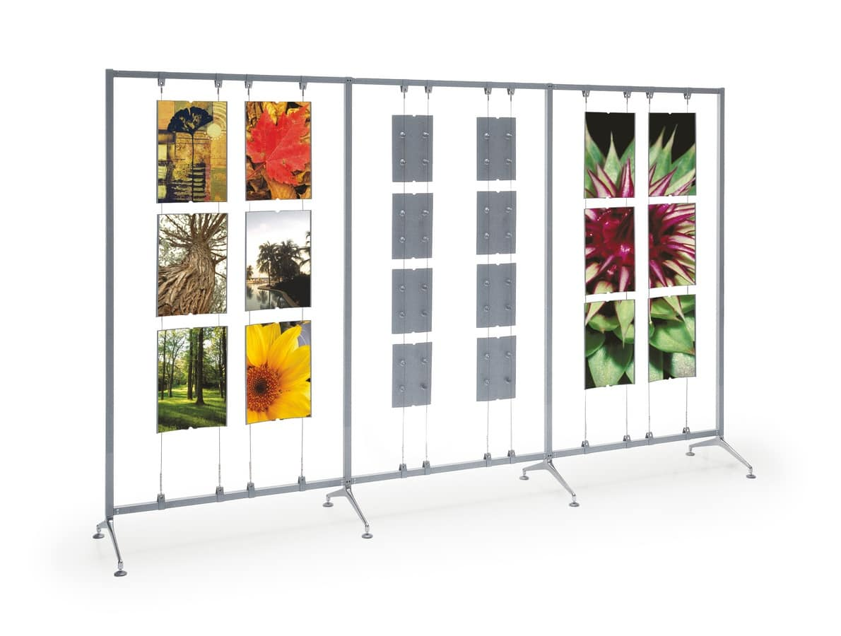 Koala/Archimede display, Complements for the office, exhibitors for banks and museums