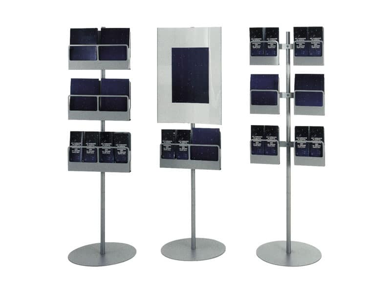 Koala totem, Exhibitors mobile with steel supports, for the office