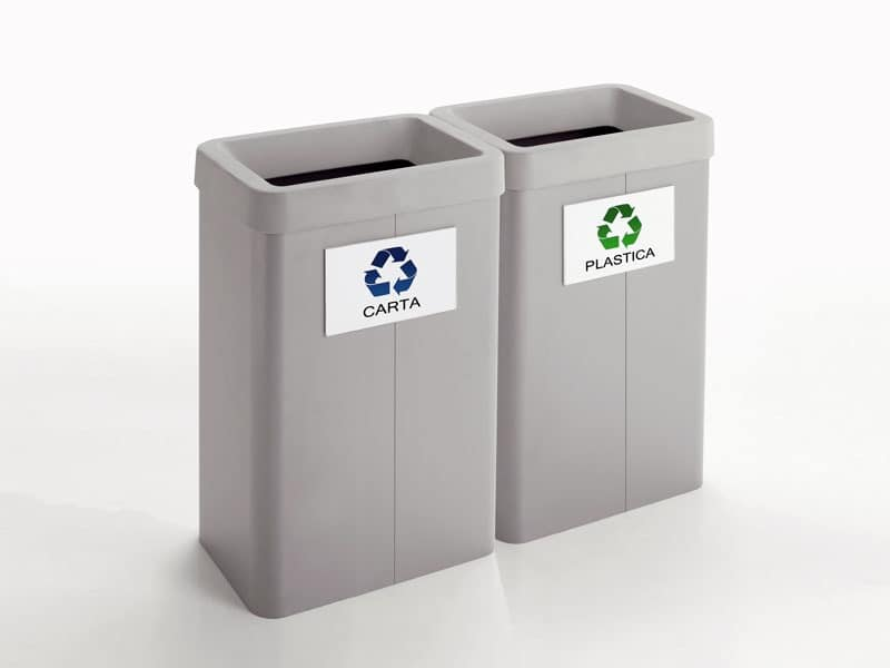 Maxi, Bins for recycling, for shops and offices