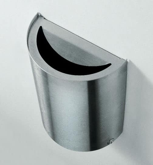 Smile, Wall wastepaper basket for offices and technical studies