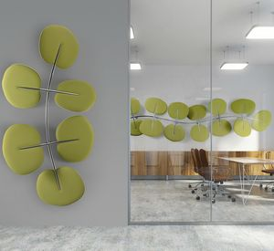 Botanica, Leaf-shaped sound-absorbing panels
