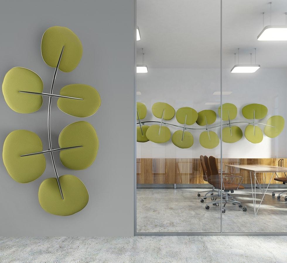 Botanica, Leaf-shaped sound-absorbing panels