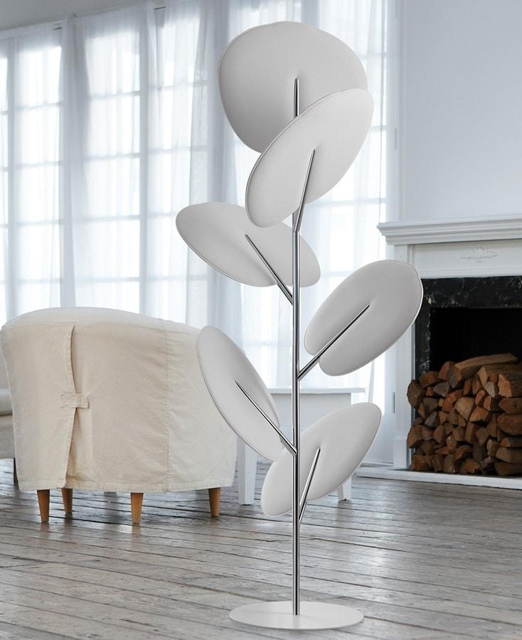 Botanica totem, Freestanding sound absorbing panels