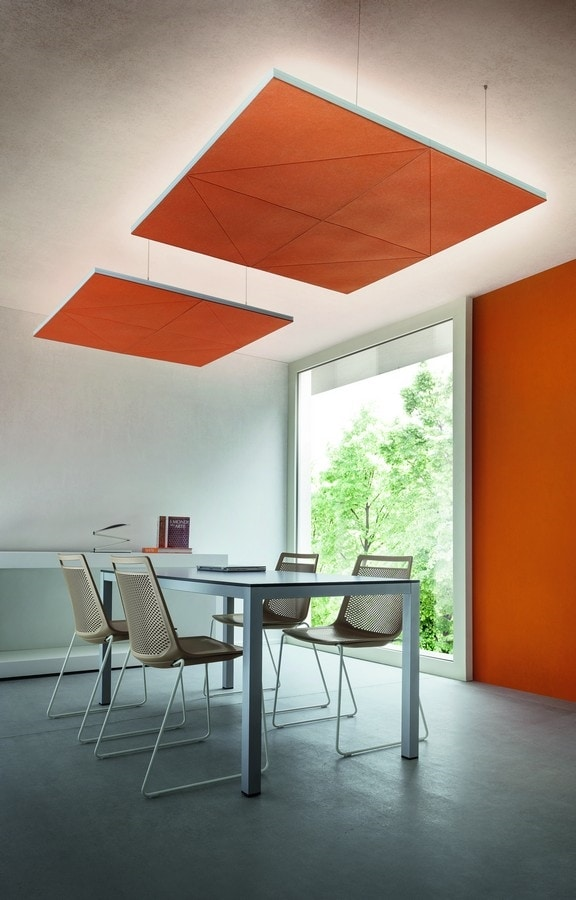 Diamante, Acoustic panels for wall and ceiling