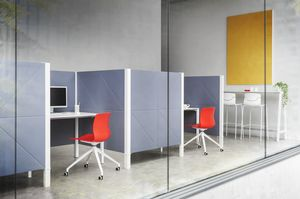 Diamante, Sound absorbing partition panels