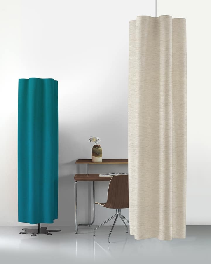 Diesis, Sound-absorbing panels, freestanding or for ceiling