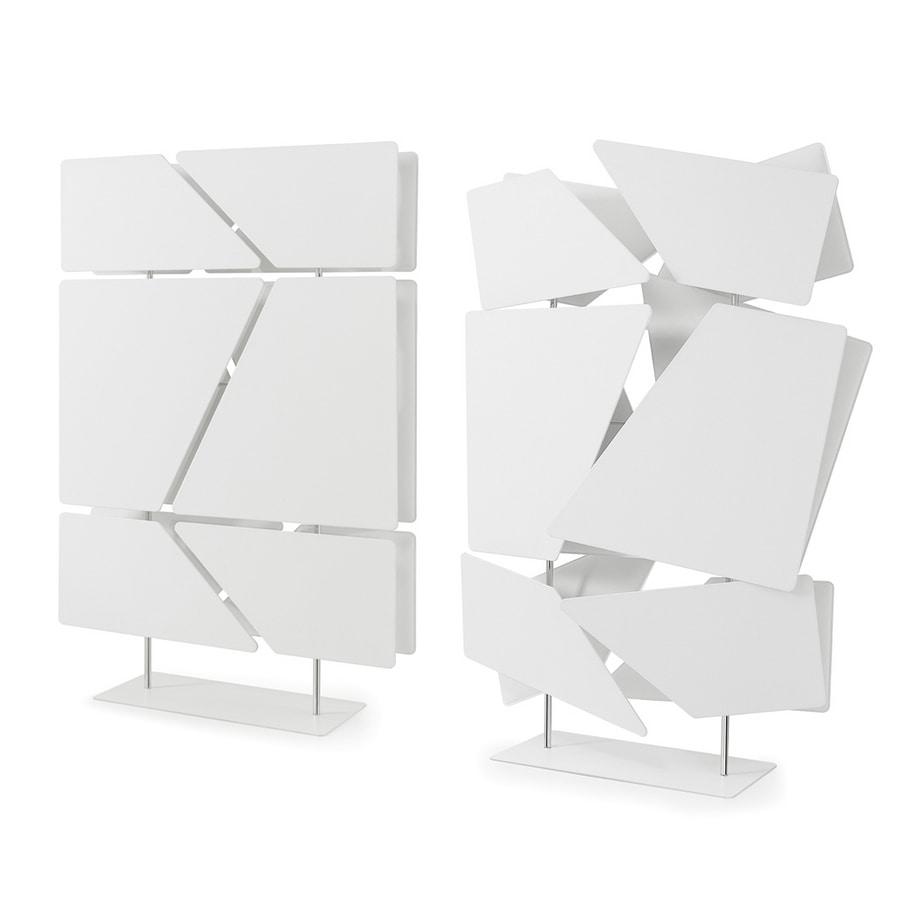 Flat totem, Divider composed of 12 sound-absorbing panels