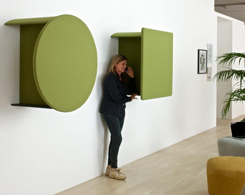 Bon Kite Phone Booth, Sound Absorbing Panels For Calls Corner