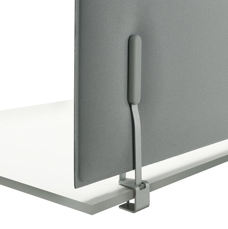 Mitesco desk, Sound absorbing panels for desk