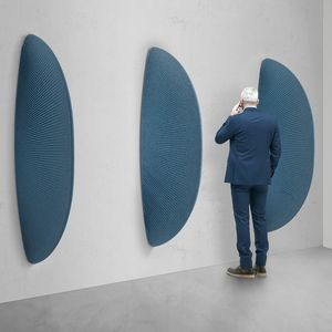 Pinna, Fin-shaped sound-absorbing sculpture