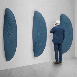 Pinna, Fin-shaped sound-absorbing sculpture