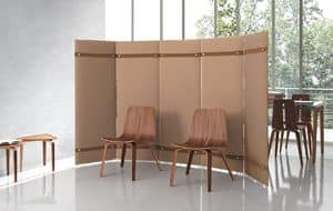 Pli, Sound-absorption partition wall suited for offices