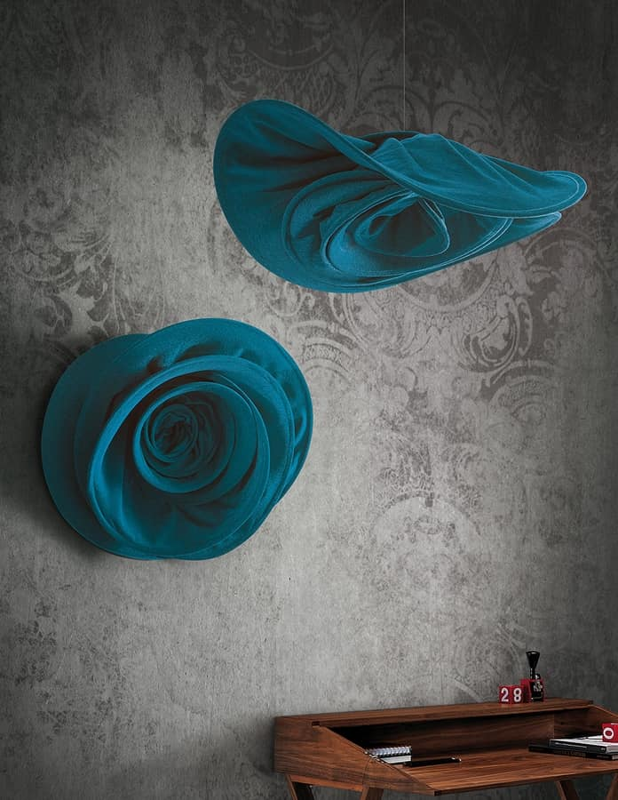 Si sboccia, Rose-shaped sound absorbing element