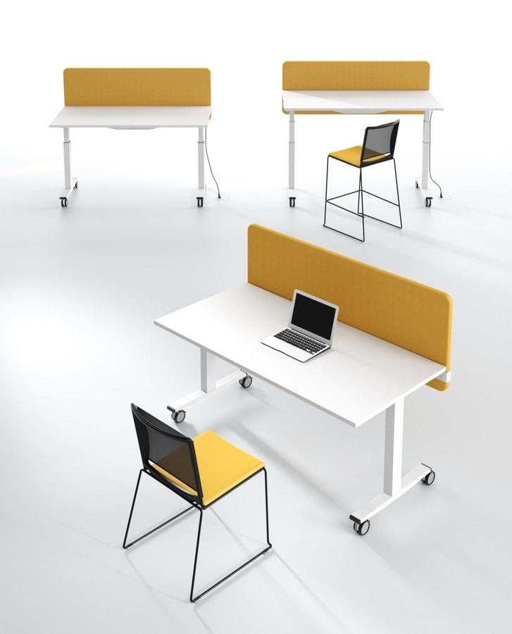 Silenzio D, Desk acoustic panels
