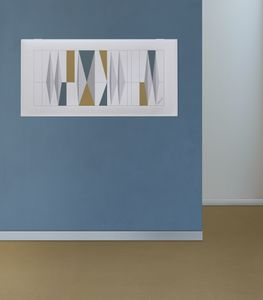 Snowsound art - Gio Ponti, Sound-absorbing panels with drawings by Gio Ponti