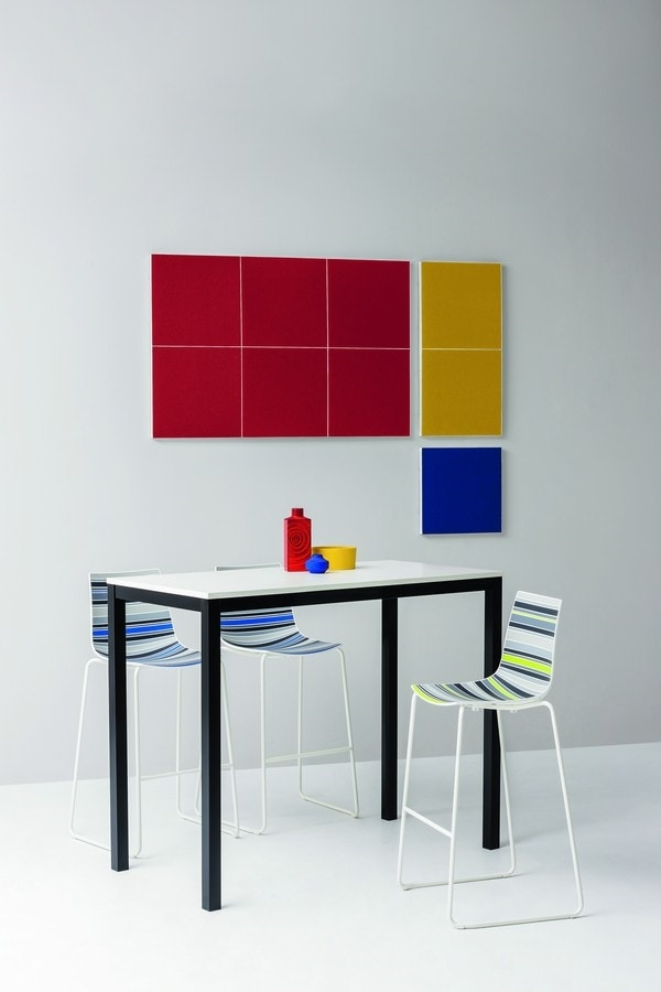 Stilly, Wall-mounted sound-absorbing panels