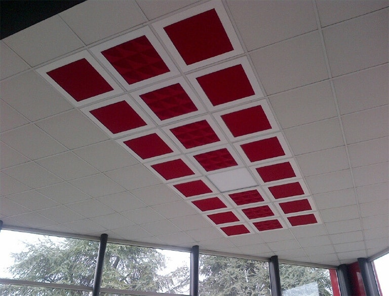 Uniko, Panels with high sound absorption