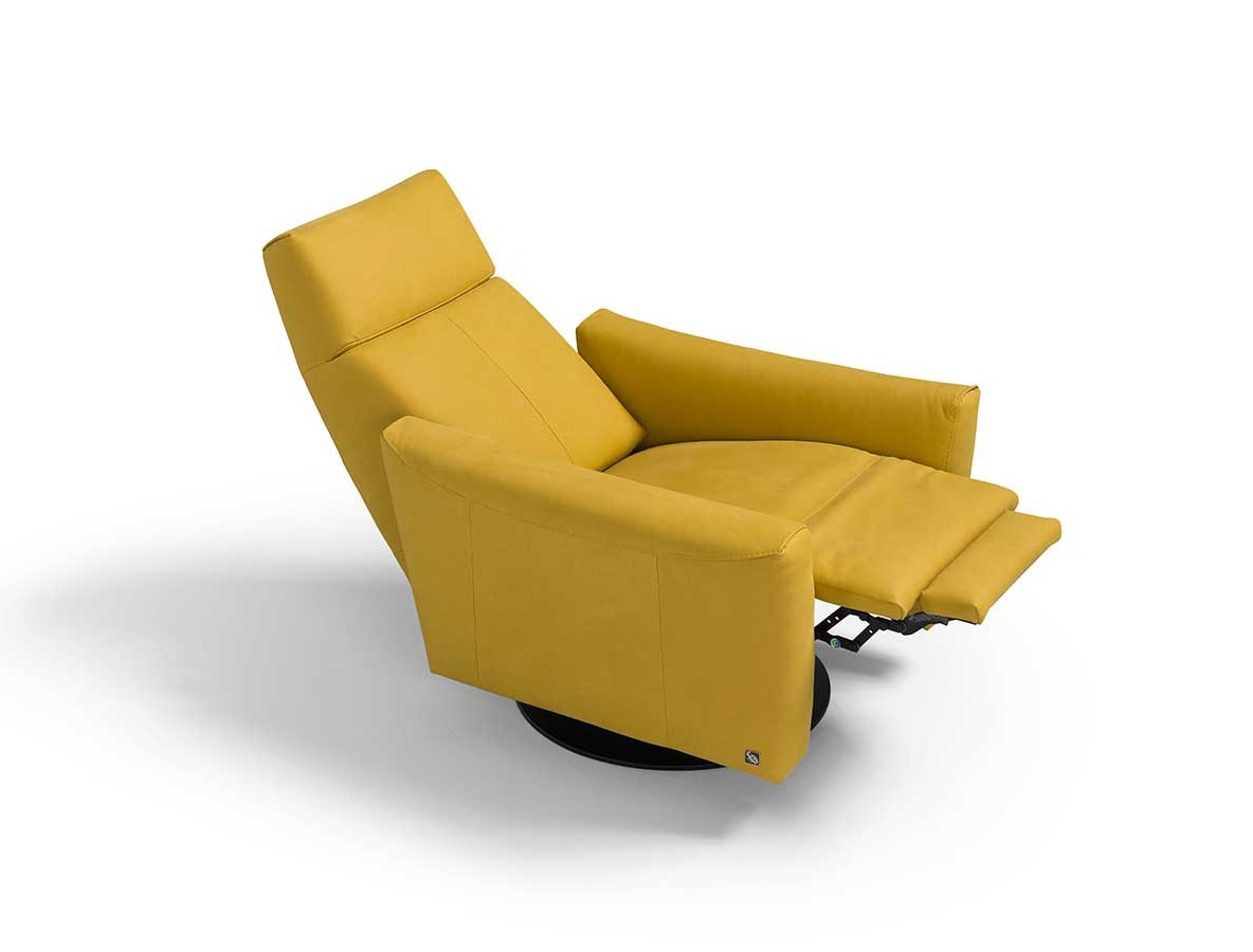 Blues, Armchair with manual relaxation mechanism