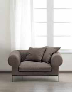 D�j� Vu armchair, Armchair for elegant waiting rooms