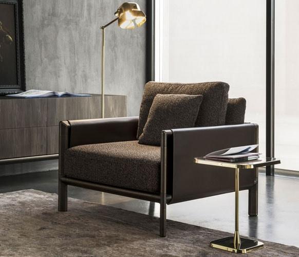 Frame Armchair, Armchair with minimal design