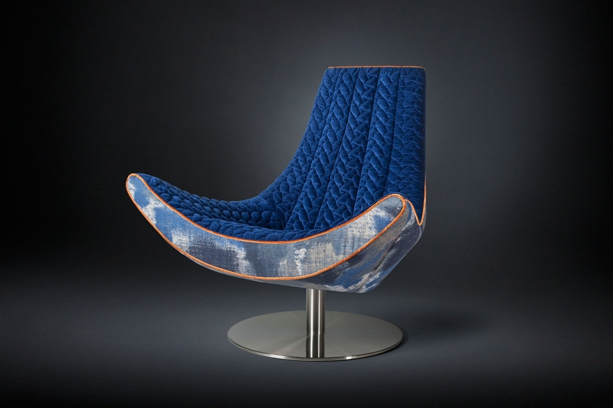 Ibiza, Design swivel armchair
