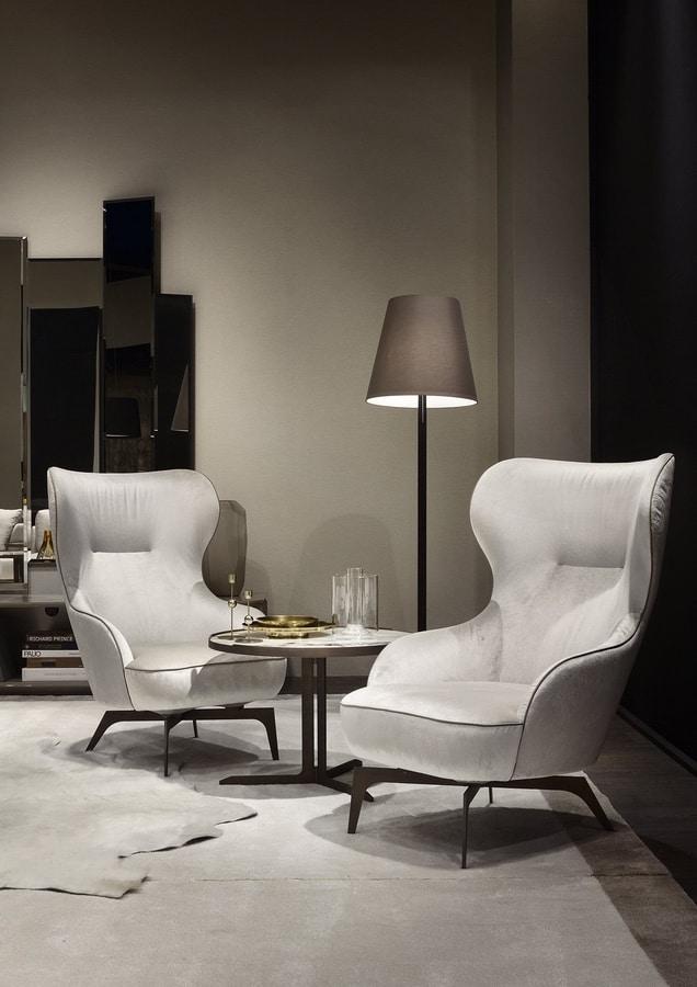 Melania, Elegant armchair