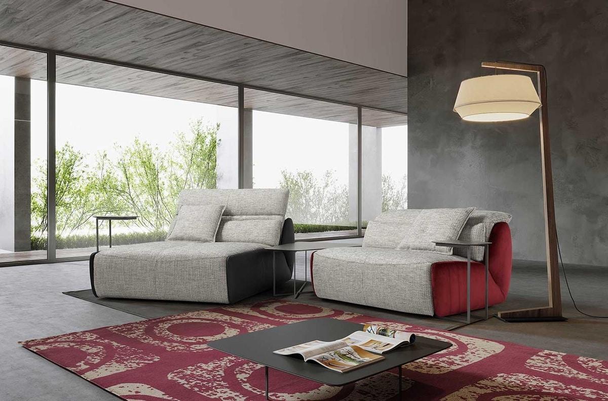 Selfy, Modular and configurable armchair