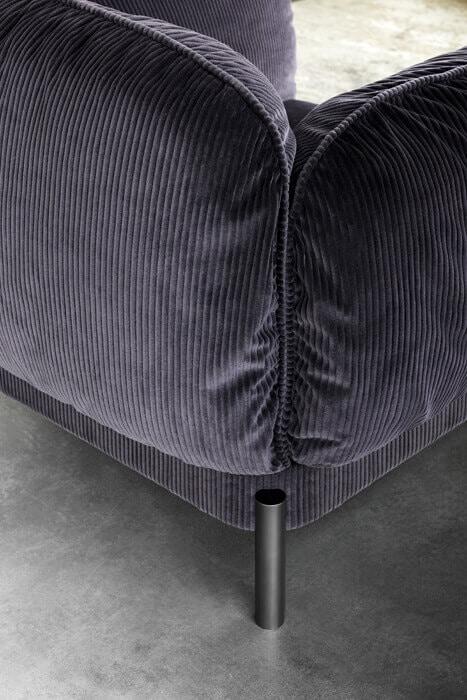 Tarantino Armchair, Soft and cozy armchair
