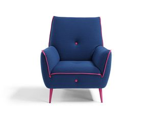 Yuki, Armchair with high back