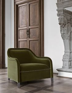 Arp�ge Eleve armchair, Armchair in balance between design and classicism