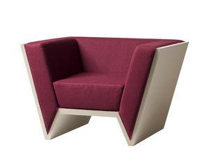 Nessundorma 3892, Geometric design armchair