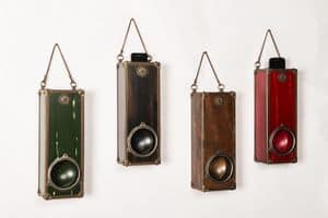 Art. AA452, Wooden amplifier for smartphones, wall mounting