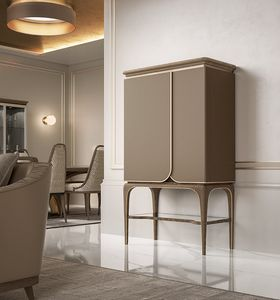 Alexander Art. A50, Bar cabinet with an elegant taste