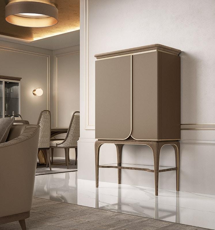Alexander Art. A50, Bar cabinet with an elegant taste