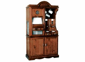 Art. 413, Rustic cabinet with ice machine