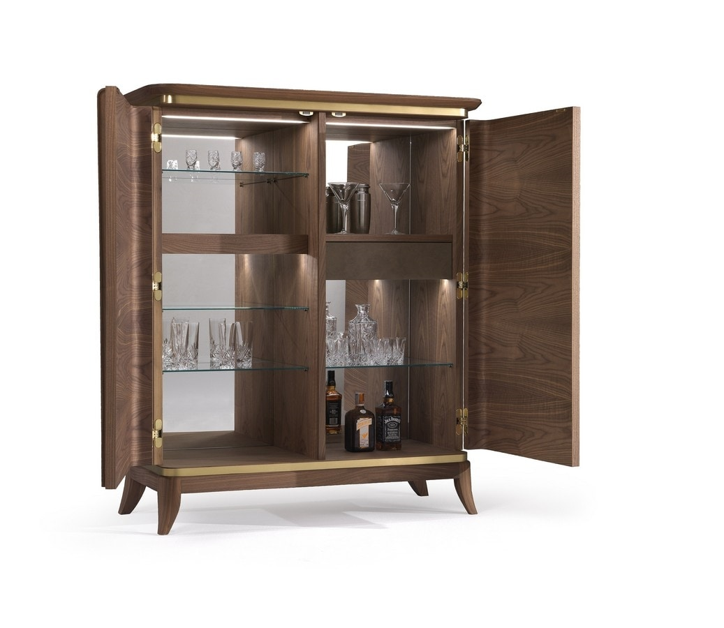 Art. 5010, Bar cabinet with mirrors