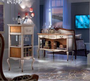 Bar cabinet '700, Classic style bar cabinet