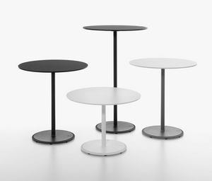 Bon mod. 9380-01 / 9380-1 / 9380-71, Collection of bar tables, cast iron base, round top