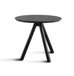 ART. 0098-3 AKY CONTRACT, Table base for bar with three wooden legs and ash top