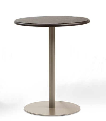 BASIC 855, Round table with metal base